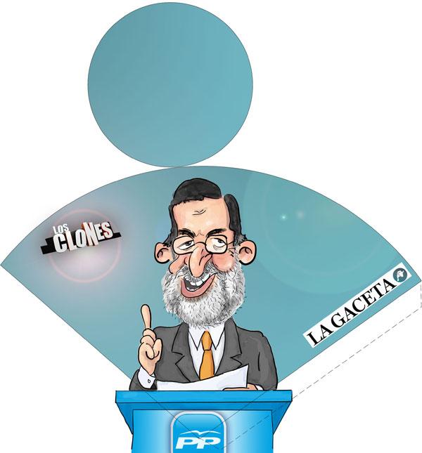 Cenicero de Playa. Rajoy