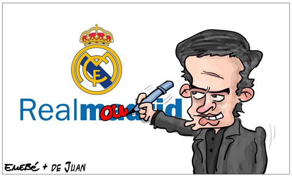 Mourinho cerca del Madrid