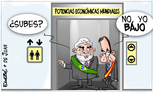 España pierde peso internacional
