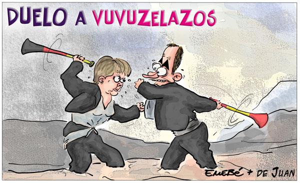 España vence a Alemania