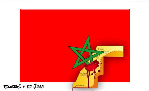 Represión en el Sahara