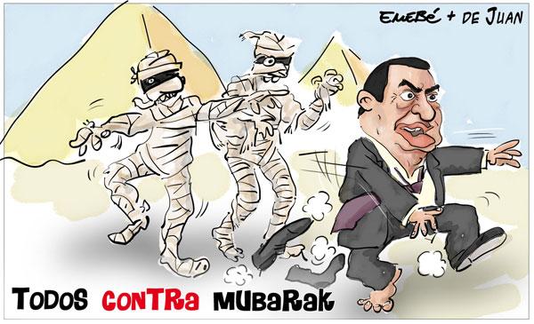 Primavera Árabe. Egipto