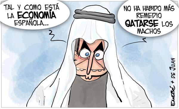 Zapatero busca apoyos en Catar