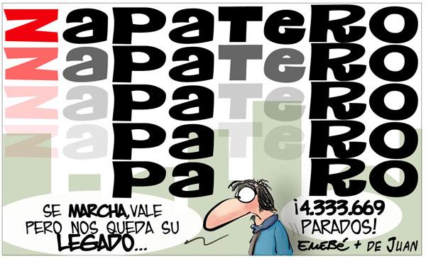 El legado de Zapatero