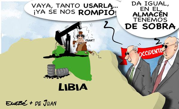 Primavera Árabe. Libia