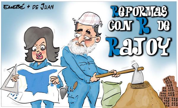 La primera reforma de Rajoy