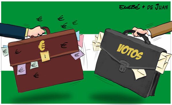 Corrupción en Andalucía