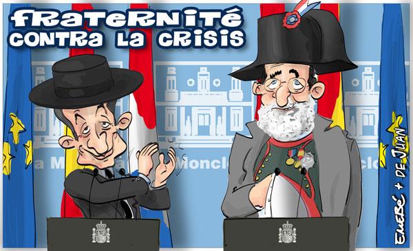 Sarkozy visita España
