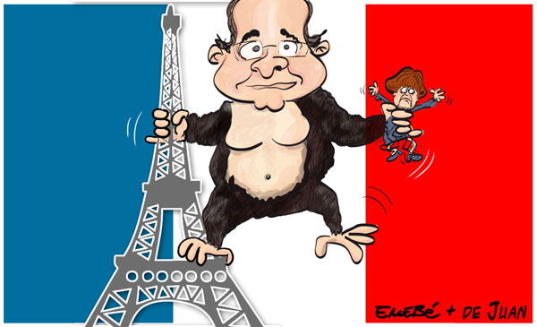 Monsieur le President Hollande