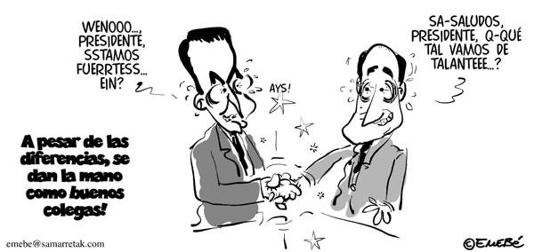 Zapatero y Camps