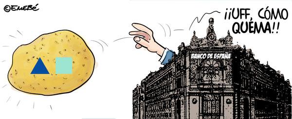 CAM, la patata caliente del Banco de España