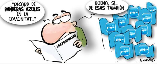 Banderas azules en la Comunitat Valenciana