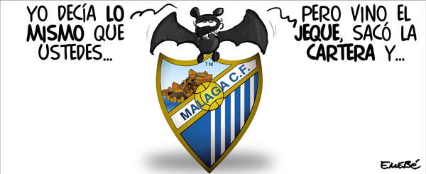 El Málaga saca los petrodólares para fichar jugadores del Valencia