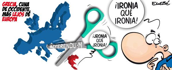 Grecia en la cuerda floja
