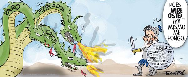 Rajoy convence y gana