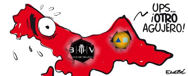 El Banco de Valencia cae