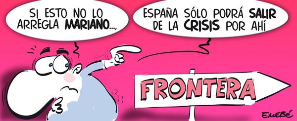 ¿La salida a la crisis para los españoles?