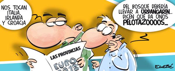 """Eurocopa 2012 y """"pelotazos"""""""