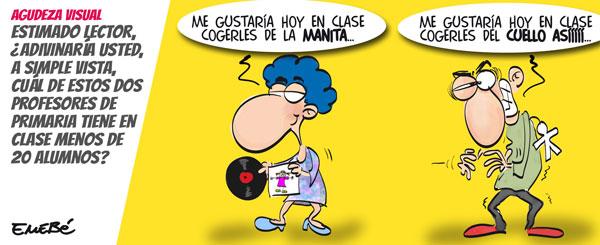 Anécdotas en la enseñanza pública valenciana