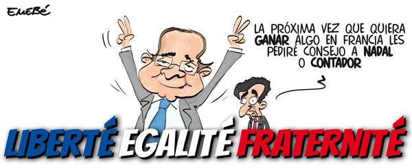 Hollande gana las elecciones