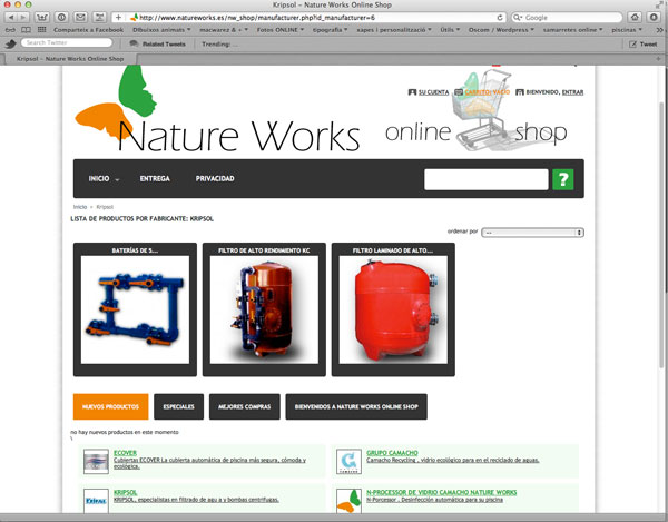 Nature Works Online Shop