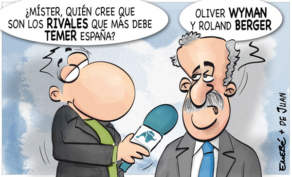 """Los """"rivales"""" de España"""