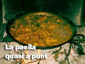 Cocinamos la auténtica y tradicional paella valenciana