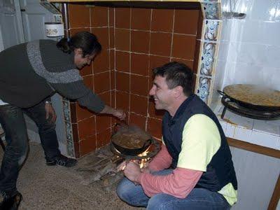 Arròs i gastpatxo / Arroz y gazpacho de cazador