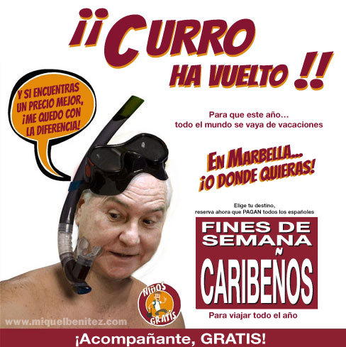 Los fines de semana caribeños de Carlos Dívar
