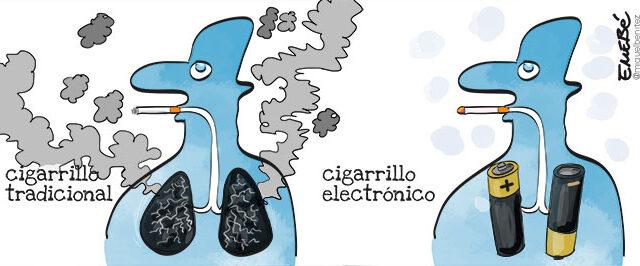¿Perjudica también el cigarrillo electrónico?