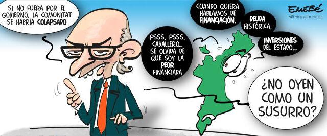 Montoro y el colapso valenciano