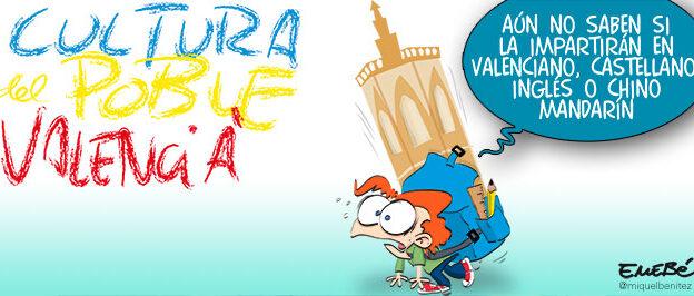 Cultura Valenciana, nueva asignatura