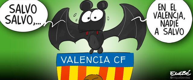 La crisis del Valencia CF y manipulación informativa