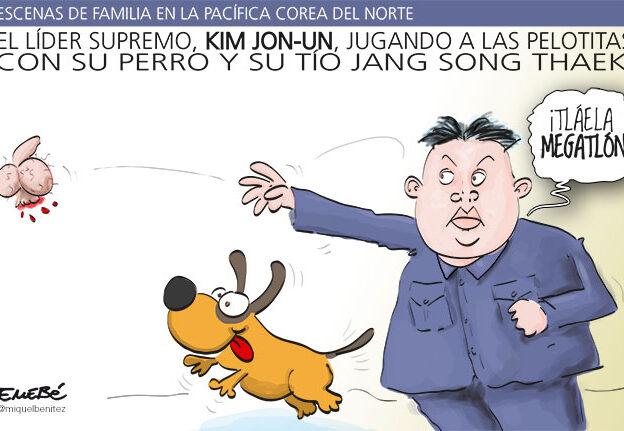 El humor de perros de Kim Jon-Un